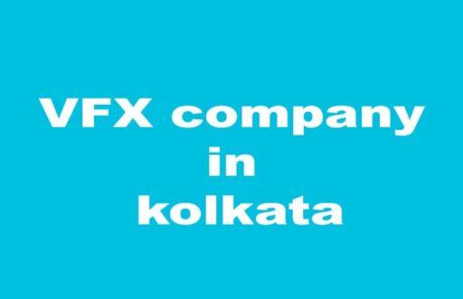 VFX company in kolkata