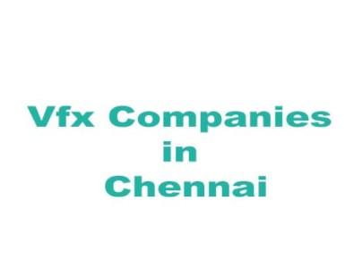 vfx companies in chennai