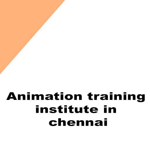 Animation training institute in chennai