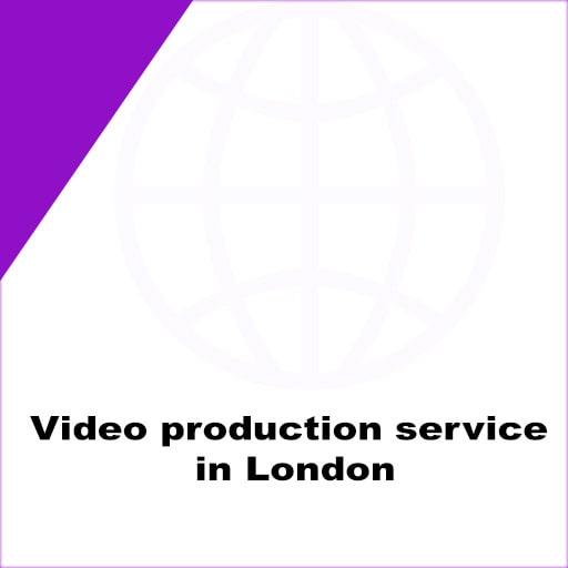 Video production service in London